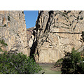 This is the Caminito del Rey (Kings Walkway) at El-Chorro, it's just ten minutes from my home.