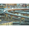 highway bridge interchange offramp landscape cityscape