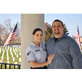 vanessandbilly christmasphotos portrait couple married springfield missouri flag