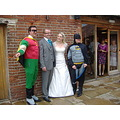 June wedding groom batmen