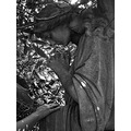 foliage angel hand mono light shade