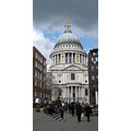 2. View lookng back at St Paul's as we headed towards the Millenium Footbridge.