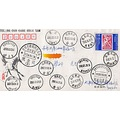 Guangdong Nanxiong postmark stamps china chinese stamp collection postoffice tra