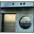 reflectionthursday shipyard elevator city skyline