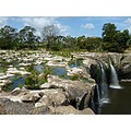water waterfall river nature landscape land