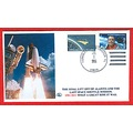 Alantis Space Shuttle stamps covers