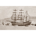 tall ships ship galleon ocean sailing mariner