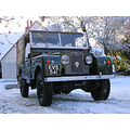 Snow November 2005 Land Rover out to work