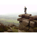 Another friend on Curbar Edge