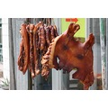 Pig Face  Pork products hanging to dry - Southern China