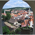 czech town townscapes
