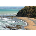 Bushey beach looking toward Kakanui