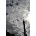 eiffel tower sky