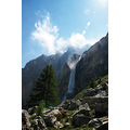 waterfall alps valle maira cascate stroppia