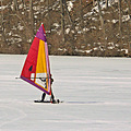 Modified WInd Surfer on Lake Redman