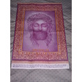 jesus purple church rug paper
