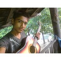 rishav with guitar