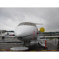 Helsinki Air show. I  like this airplane, a private jet.
