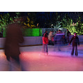 ice rink winter sport action night lights Xmas colmar alsace france