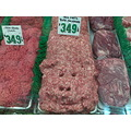 pig pork sausage butcher at lake almanor market funny