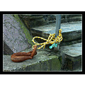 boat hook anchor steps cornwall rope