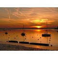 Sunrise at Upnor