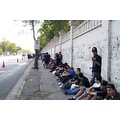 people waiting chile
