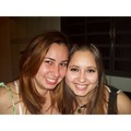 My sister, D�bora, and me.