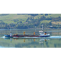 reflectionthursday boat otago harbour load sea dump dunedin littleollie