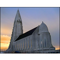 church Reykjavik Iceland architecture building tower big large main design