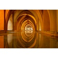 real alcazar palace seville baths reflectionthursday