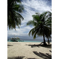 beach davao sea ocean holiday samal island philippines boat