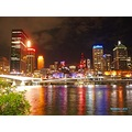Brisbane Night Scene