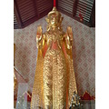 Shrine at Wat Suthat in Bangkok Thailand