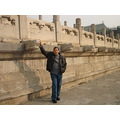he is enjoy his tour in beijing with me during the Spring Festival days of the year of pig