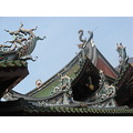 architecture roof chinese sky