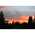 Gorgeous sunset... disappointed I didn't make it to the beach to photograph this one!   This will...