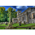 Peak District Derbyshire Great Longstone Church