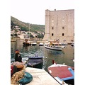dubrovnik kroatia harbour adriatic blue water sea boats montello
