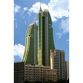 Building Bahrain Green Sky Cloud Building Great Manama Financial