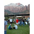 Beautiful spot for an outdoor concert.  O.C. Tanner Amphitheatre in Springdale, Utah.