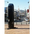 Downtown Dunedin with the controversial Rugby Haka Peepshow that some are saying that the council...