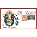 Space space shuttle Alantis stamps covers