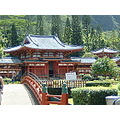 ByodoIn Temple in Oahu Island