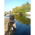 enfield lock canal reflections