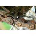 rust chain bicycle bike