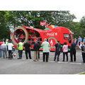 CocaCola Coach Torch Relay Procession Summer Games Olympics 2012 Surrey