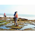 cadidfriday2 pool young lady man wet wet wet tanah lot temple bali littleollie