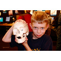 Kids children museum skull