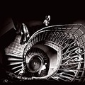 secession architecture series black white chess spiral stairs portrait keitology